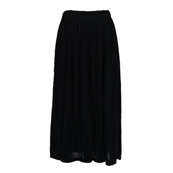 wholesale Slinky Travel Skirts* Black Slinky Travel Skirt - One Size (S-XXL)
