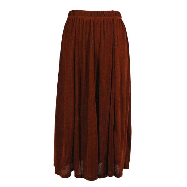 wholesale Slinky Travel Skirts* Brown Slinky Travel Skirt - One Size (S-XXL)