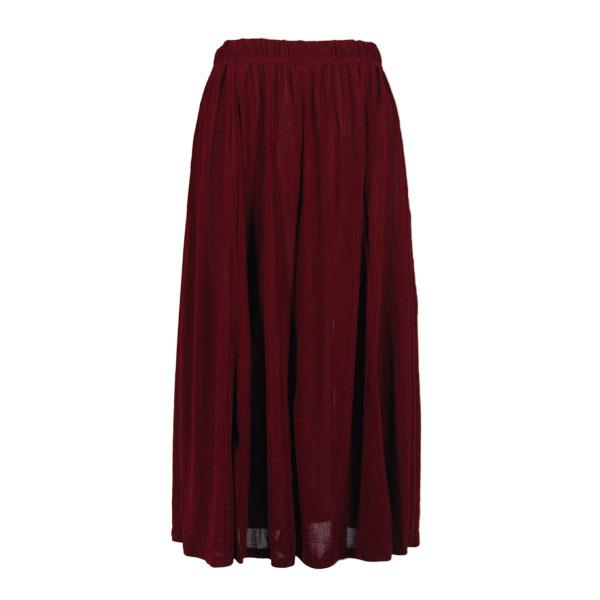 wholesale Slinky Travel Skirts* Wine Slinky Travel Skirt - One Size (S-XXL)