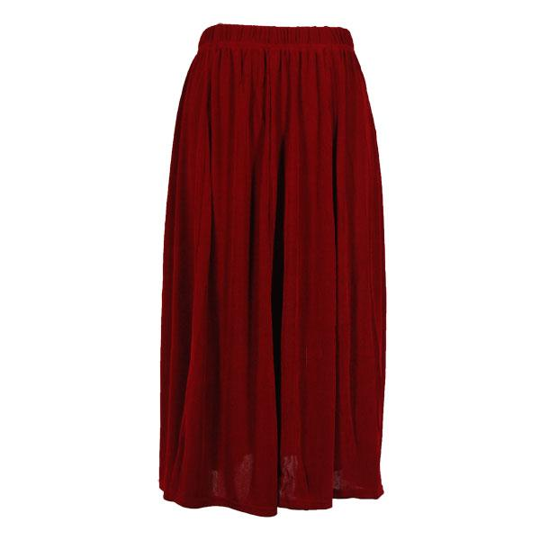 wholesale Slinky Travel Skirts* Cranberry Slinky Travel Skirt - One Size (S-XXL)