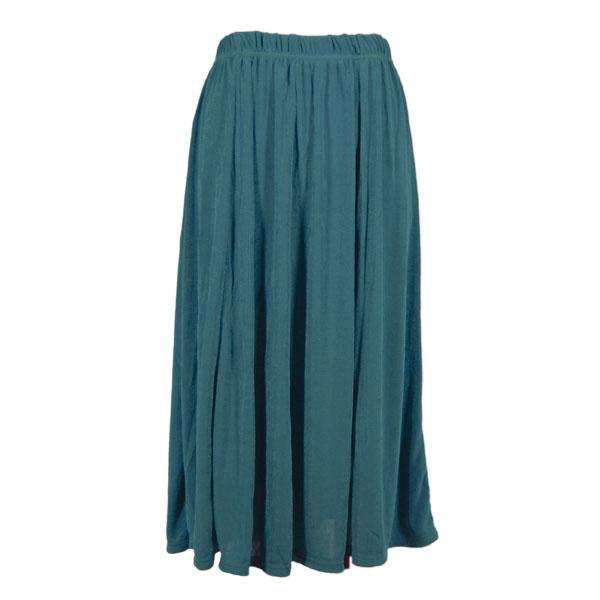 wholesale Slinky Travel Skirts* Teal Slinky Travel Skirt - One Size (S-XXL)