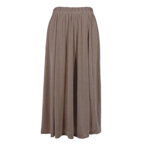 wholesale Slinky Travel Skirts* Taupe - One Size (S-XXL)