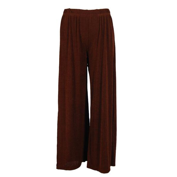 wholesale Slinky Travel Pants* Brown Plus - 27 inch inseam (XL-2X)