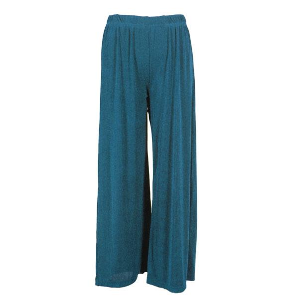Wholesale Pinpoint Popcorn - Three Quarter Sleeve Teal - 27 inch inseam (S-L)