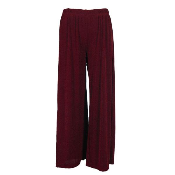 Wholesale Slinky Travel Pants* Wine - 25 inch inseam (S-L)