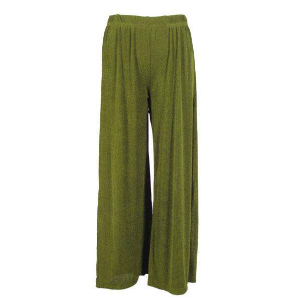 Wholesale Slinky Travel Pants* Olive - 25 inch inseam (S-L)