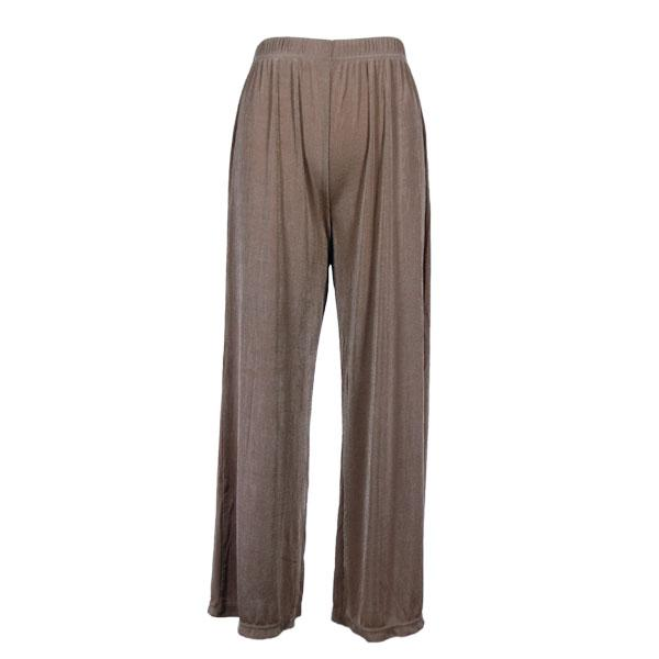 wholesale Slinky Travel Pants* Taupe - 25 inch inseam (S-L)