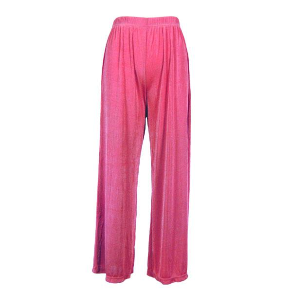 Wholesale Slinky Travel Pants* Raspberry - 27 inch inseam (S-L)