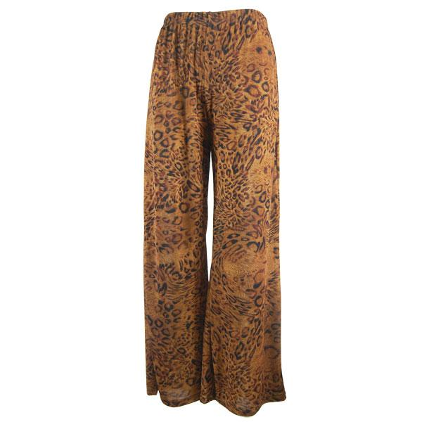 Wholesale Slinky Travel Pants* Leopard Print - 25 inch inseam (S-L)