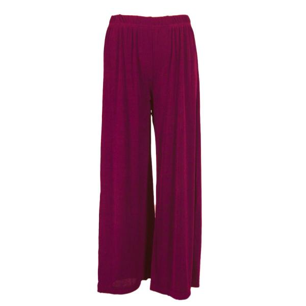 Wholesale Slinky Travel Pants* Plum - 27 inch inseam (S-L)
