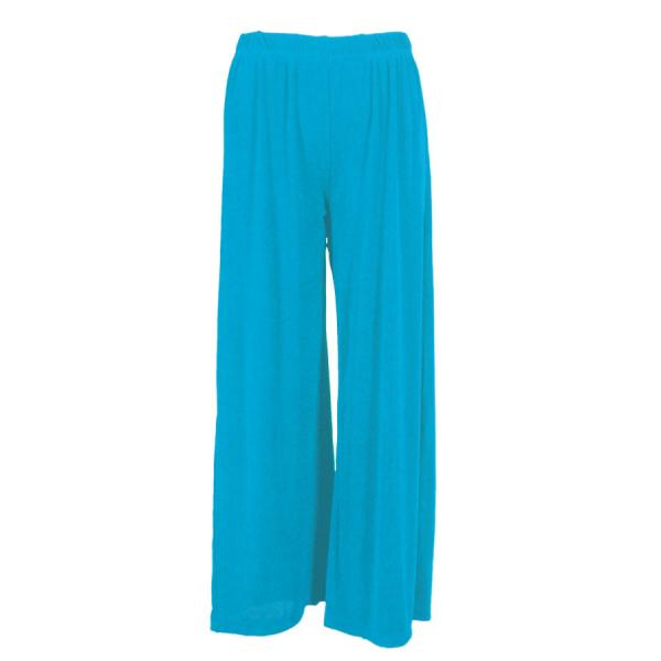 Wholesale Slinky Travel Pants* Caribbean Teal - 27 inch inseam (S-L)