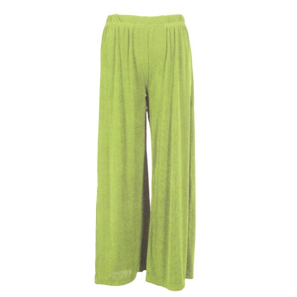 Wholesale Slinky Travel Pants* Green Apple - 25 inch inseam (S-L)