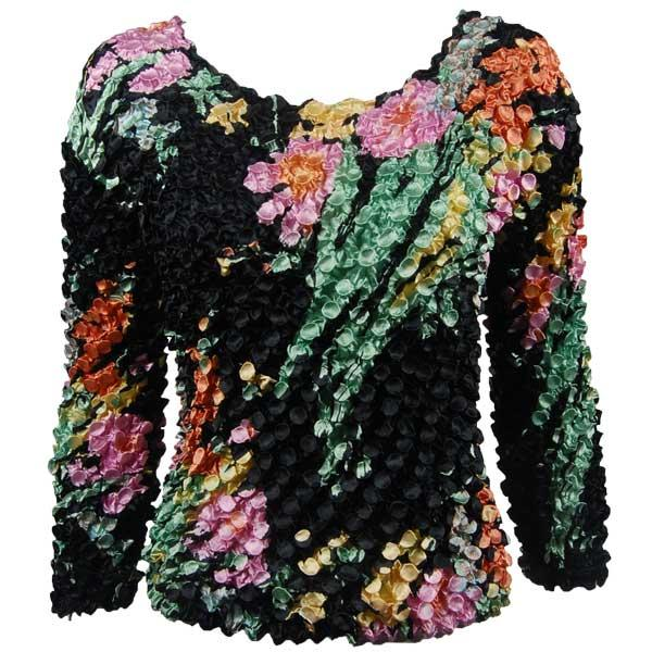 wholesale Coin Prints - Long Sleeve Floral Fantasy (MB) - One Size (S-XL)