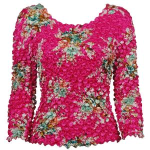 wholesale Coin Prints - Long Sleeve Mini Bouquet on Pink (MB) - One Size (S-XL)