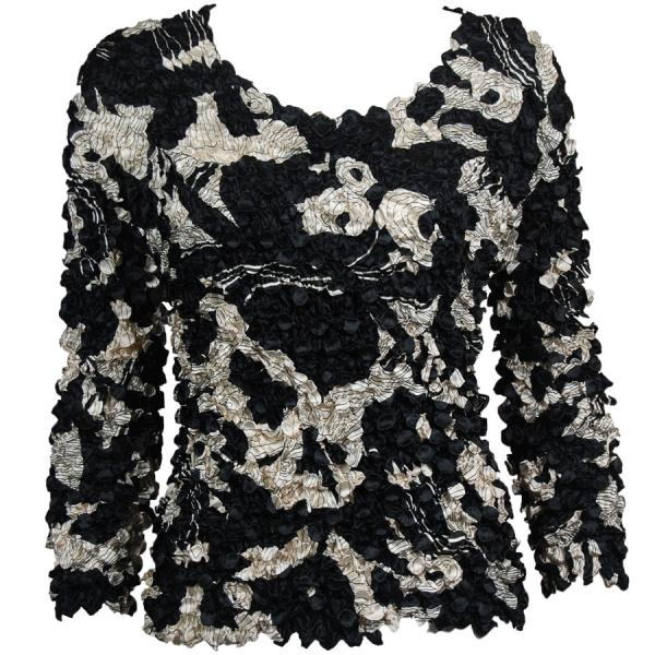 wholesale Coin Prints - Long Sleeve African Black-White - One Size (S-XL)