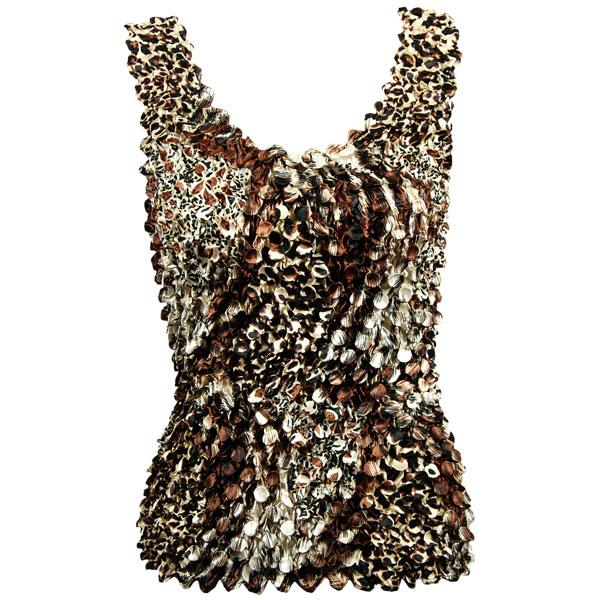 wholesale Coin Prints - Tank Top Patchwork Leopard - One Size (S-XL)