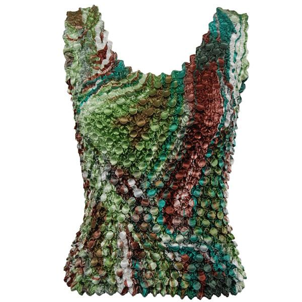 wholesale Coin Prints - Tank Top Giraffe Green-Brown - One Size (S-XL)