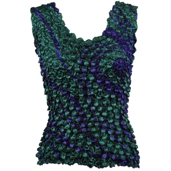 wholesale Coin Prints - Tank Top Swirl Green-Purple - One Size (S-XL)