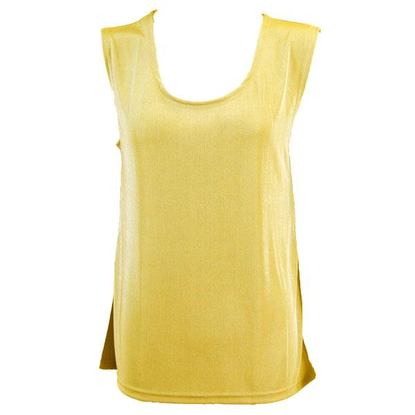 wholesale Slinky Travel Tops - Sleeveless* Yellow - One Size Fits (S-L)