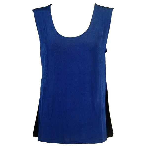wholesale Slinky Travel Tops - Sleeveless* Royal - One Size Fits (S-L)