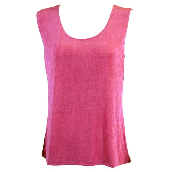 wholesale Slinky Travel Tops - Sleeveless* Raspberry - Plus Size Fits (XL-2X)