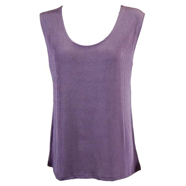 wholesale Slinky Travel Tops - Sleeveless* Dusty Purple - Plus Size Fits (XL-2X)