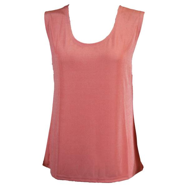 wholesale Slinky Travel Tops - Sleeveless* Light Pink - Plus Size Fits (XL-2X)