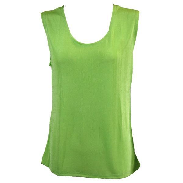 wholesale Slinky Travel Tops - Sleeveless* Lime - Plus Size Fits (XL-2X)