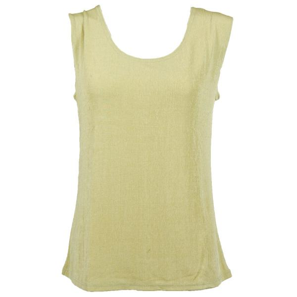 wholesale Slinky Travel Tops - Sleeveless* Pear - One Size Fits  (S-L)