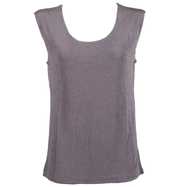 wholesale Slinky Travel Tops - Sleeveless* Lavender - Plus Size Fits (XL-2X)