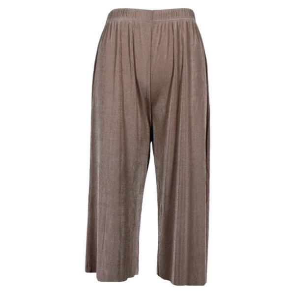 Wholesale Slinky TravelWear Capris* Taupe - Plus Size Fits (XL-2X)