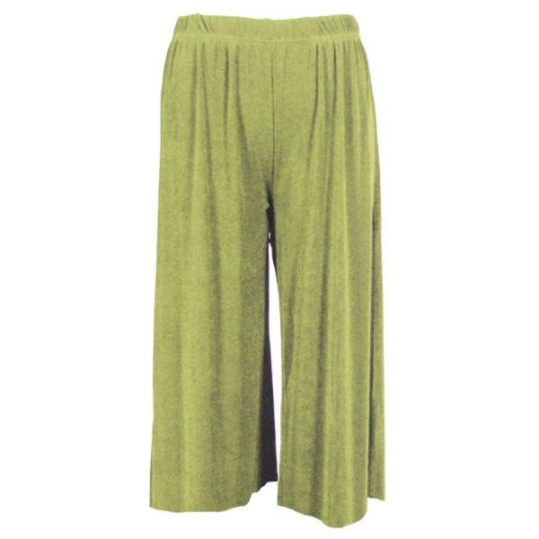 Wholesale Slinky TravelWear Capris* Leaf Green - Plus Size Fits (XL-2X)