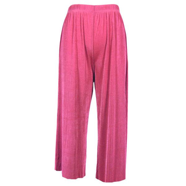 Wholesale Slinky TravelWear Capris* Raspberry - Plus Size Fits (XL-2X)