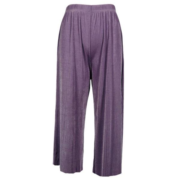 Wholesale Slinky TravelWear Capris* Dusty Purple - Plus Size Fits (XL-2X)