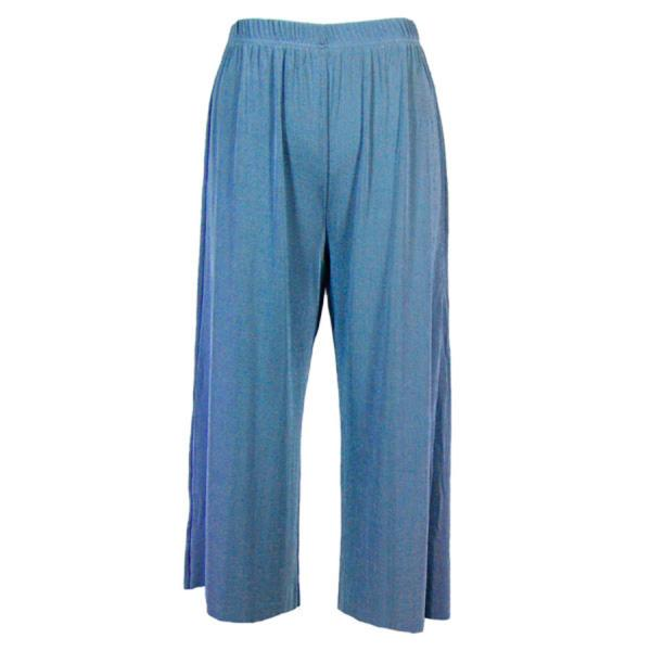 Wholesale Slinky TravelWear Capris* Light Blue - Plus Size Fits (XL-2X)
