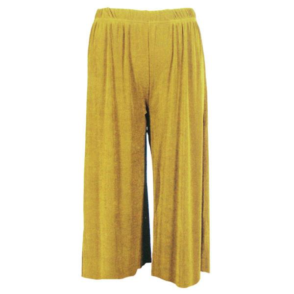 Wholesale Slinky TravelWear Capris* Yellow - Plus Size Fits (XL-2X)