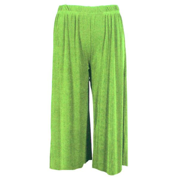 Wholesale Slinky TravelWear Capris* Lime - Plus Size Fits (XL-2X)