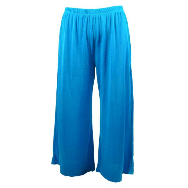 Wholesale Slinky TravelWear Capris* Turquoise - Plus Size Fits (XL-2X)