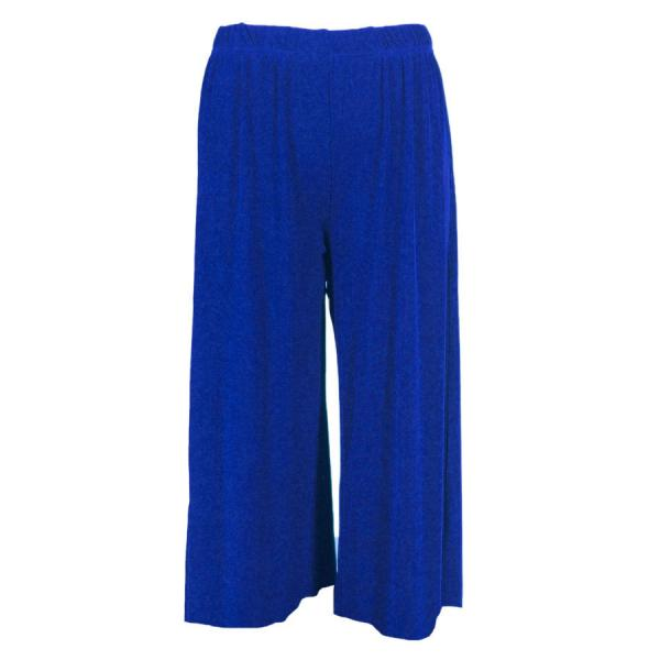 Wholesale Slinky TravelWear Capris* Blueberry - One Size (S-L)