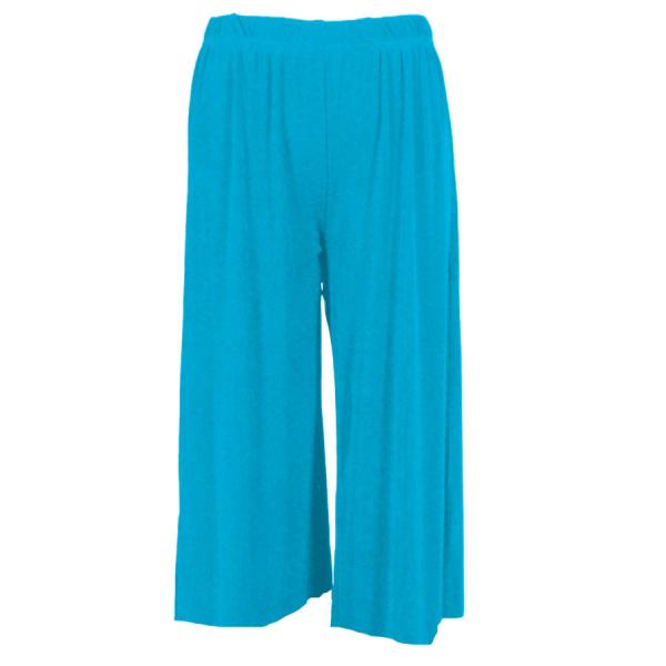 Wholesale Slinky TravelWear Capris* Caribbean Teal - Plus Size Fits (XL-2X)
