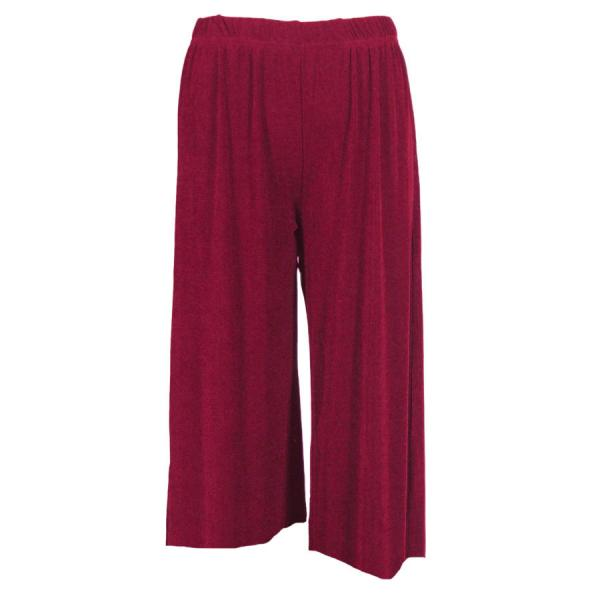 Wholesale Slinky TravelWear Capris* Cabernet - Plus Size Fits (XL-2X)