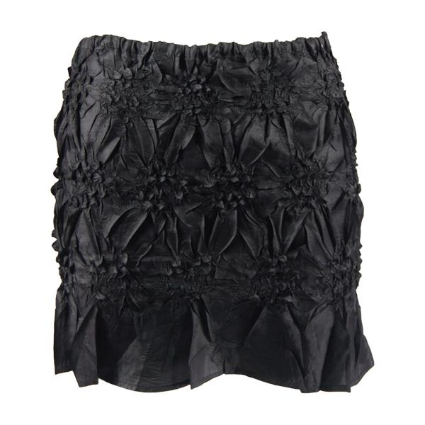 wholesale Origami - Mini Skirt/Bandeau*  Solid Black - One Size (S-XL)