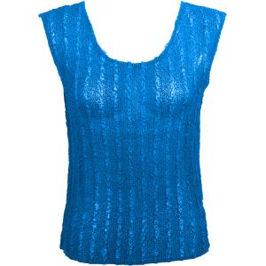 Magic Crush Georgette - Sleeveless* Solid Cornflower Blue  - Standard Size Fits (S-M)