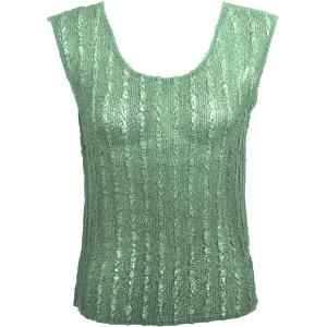 Magic Crush Georgette - Sleeveless* Solid Light Moss  - Standard Size Fits (S-M)