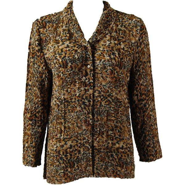 Magic Crush Georgette - Blouse* Leopard Print - One Size  Fits (S-M)