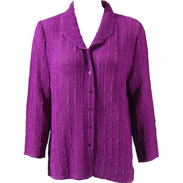 Magic Crush Georgette - Blouse* Solid Orchid - One Size  Fits (S-M)