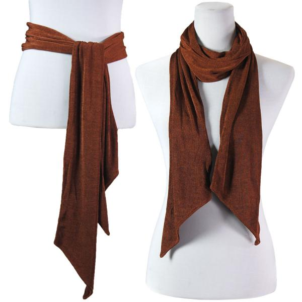 wholesale Slinky Scarf/Sash* Brown -