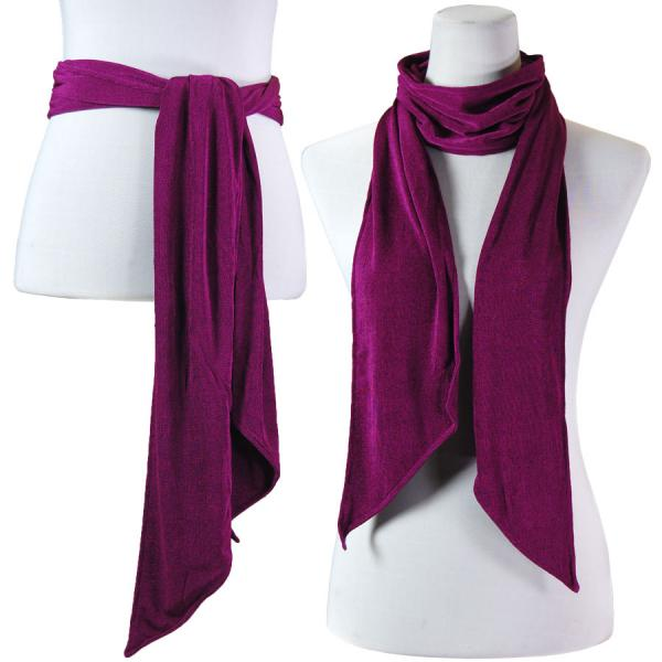 wholesale Slinky Scarf/Sash* Purple -