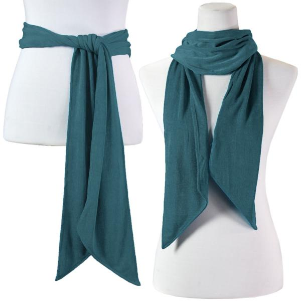 wholesale Slinky Scarf/Sash* Teal -