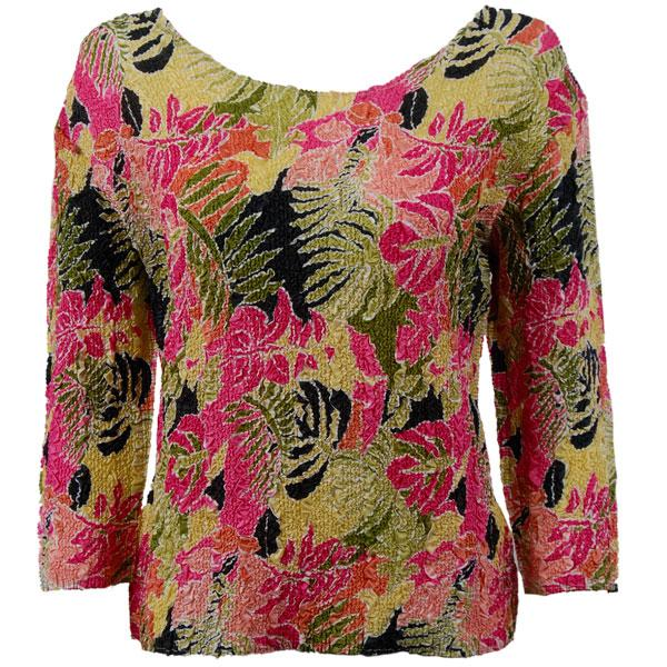 wholesale Overstock and Clearance Tops Magic Crush Silky Touch Three Quarter - Tropical Heat - One Size Fits (L-XL)